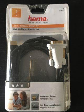 Cable adaptador HDMI DVI