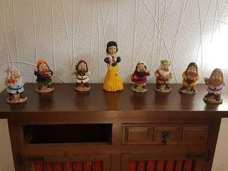 set decoración siete enanitos