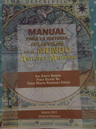 Manual historia de los viajes