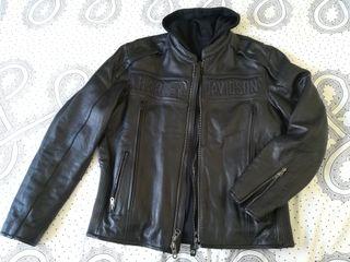Cazadora Harley Davidson Road Warrior negra. L
