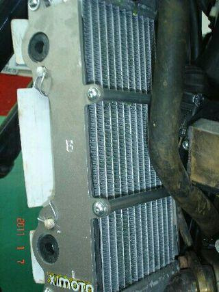 protector radiador GasGas