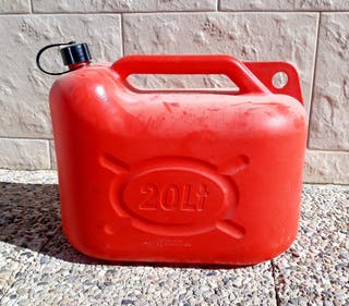 Bidón de gasolina 20l.