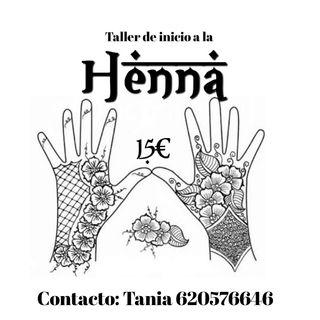 taller de inicio a la henna