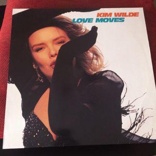 Disco vinilo KIM WILDE LOVE MOVES ALBUM 1990