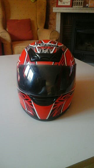 casco moto XL