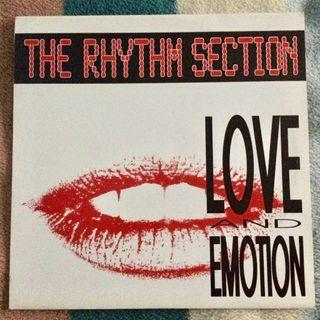 "Disco Vinilo THE RHYTHM SECTION LOVE AND MAXI 12"""