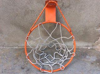 Canasta baloncesto metalica