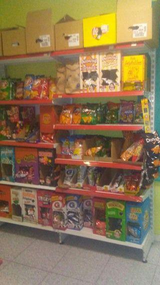 estanterias tienda
