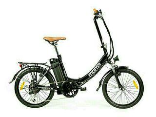 Bicicleta Plegable Eléctrica Shimano Litio