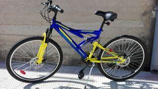 """bicicleta 26"""" sin uso!!!"""