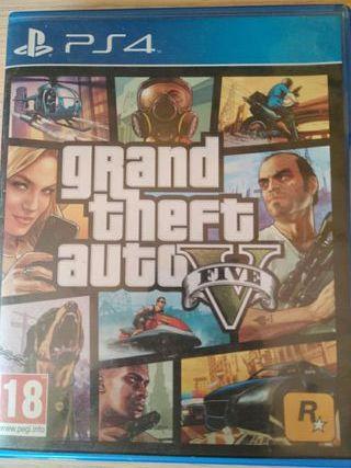 juego PS4 Gta 5