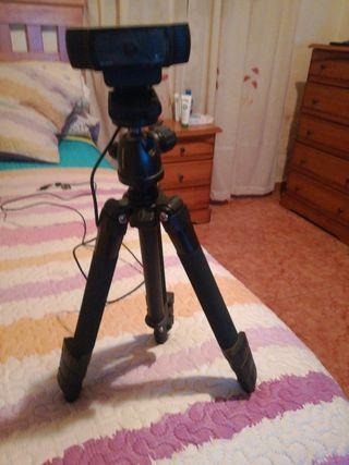 Webcam Logitech C920 HD 1080p + trípode