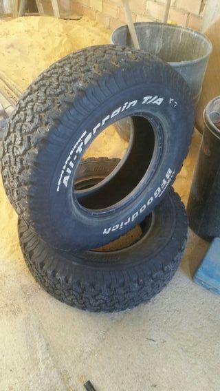 2 Neumáticos 4x4