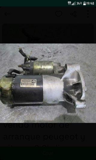 motor de arranque de peugeot 206