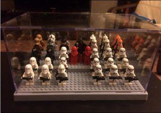 Vitrina para figuras de lego