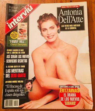 REVISTA INTERVIÚ NUMERO 1.090 ANTONIA DELL' ATTE
