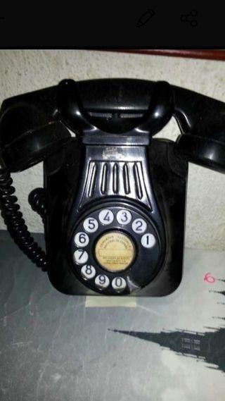 Teléfono de pared vintage decoracion