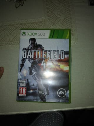 Juego de X-Box 360 Battlefield 4