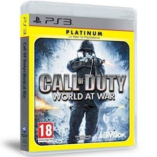 Call Of Duty world war platinum ps3