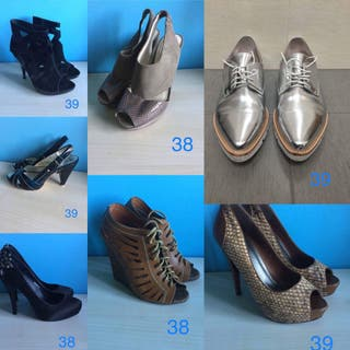 LOTE ZAPATOS 38/39
