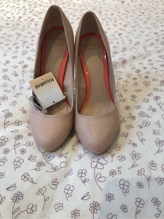 Zapatos tacón Pull&Bear
