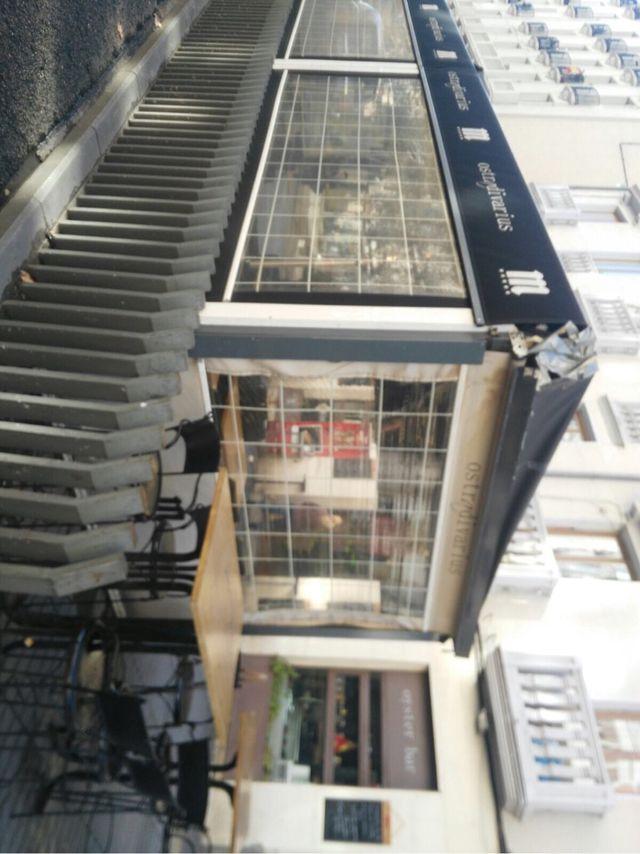 Cierre y toldo exterior para terraza bar de segunda mano - Toldos terraza bar ...