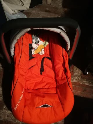 carro bebe con maxi cosi sillita y bolsa