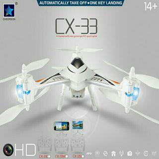 SUPER DRON CAMARA HD FPV Y PANTALLA INCLUIDA