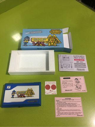 Game watch Gold Cliff de Nintendo bandai,tiger,Grandstand,juego electrónico,sega,casio,gakken,Maquinita,