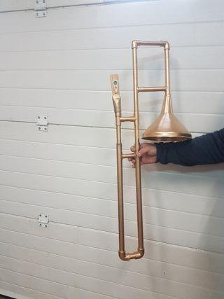 Instrumentos pvc trompetas-trombones-saxos