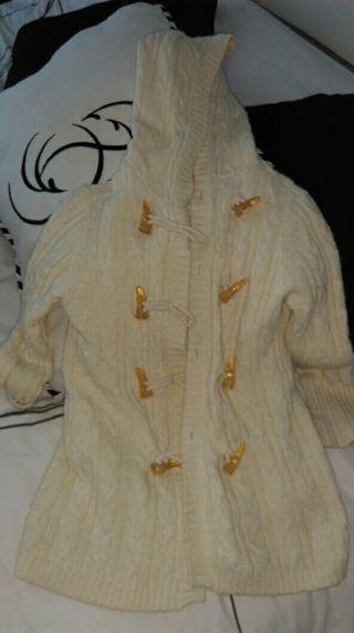 chaqueta lana niña