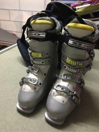 Botas esqui salomon chica