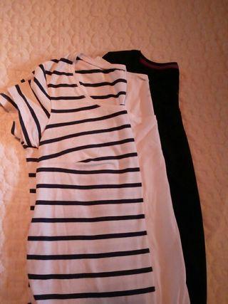 LOTE camisetas premama, embarazada