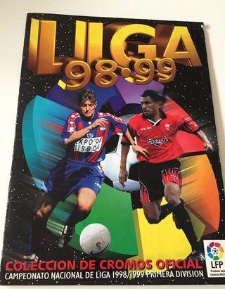 ALBUM DE CROMOS FUTBOL ESTE LIGA 1998 1999