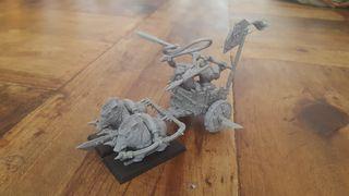 Carro jabalies Orcos Warhammer