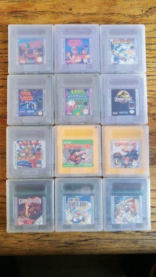 Videojuegos Game Boy