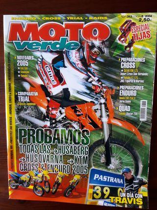 Revista Moto Verde Nº 313 del año 2004