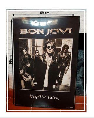 Cuadro de Bon Jovi