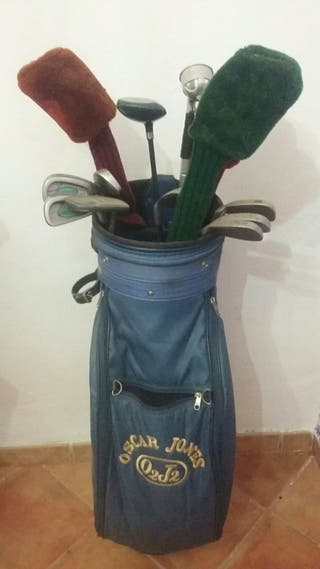 Set de 12 palos de golf con funda