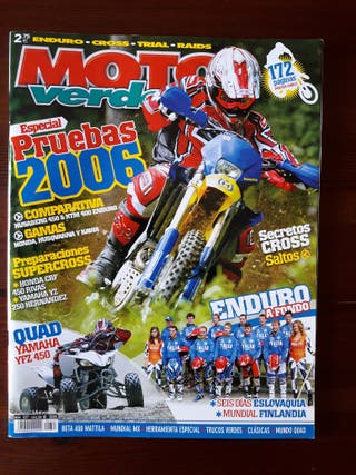 Revista Moto Verde Nº 327 de 2005