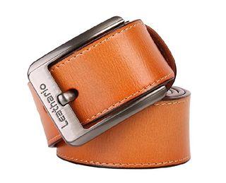 Cinturón de cuero sin hebilla de segunda mano en WALLAPOP 6b7eba168bf2