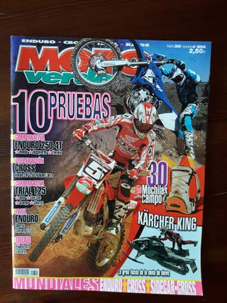 Revista Moto Verde Nº 309 del año 2004