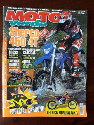 Revista Moto Verde Nº 312 del año 2004
