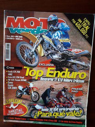 Revista Moto Verde Nº 263 del año 2000