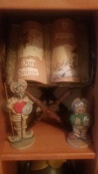 tejas decoradas quijote