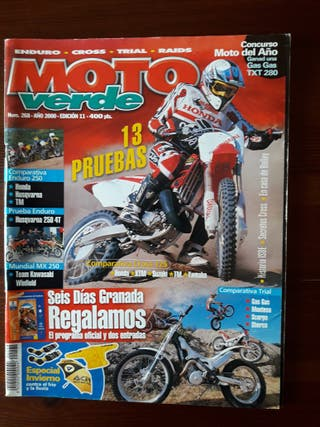 Revista Moto Verde Nº 268 del año 2000