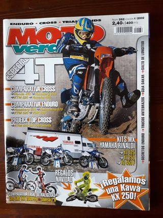 Revista Moto Verde Nº 282 de 2002