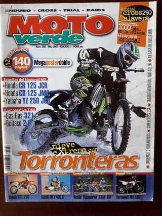 Revista Moto Verde Nº 260 del año 2000
