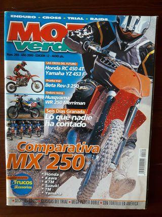 Revista Moto Verde Nº 269 del 2000
