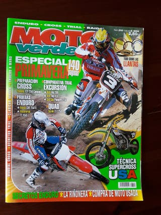 Revista Moto Verde Nº 310 del año 2004